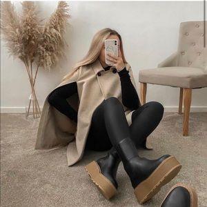 H&M Blogger Favorite Platform Chelsea Boots